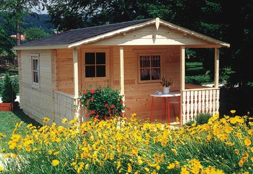 Wooden garden houses garden cabins and garden summer houses