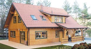 Wooden houses - modern log cabins at affordable prices